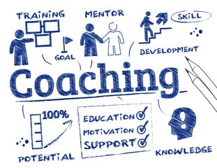 Image of Coaching (mentor, training, developing, potential, support, and knowledge