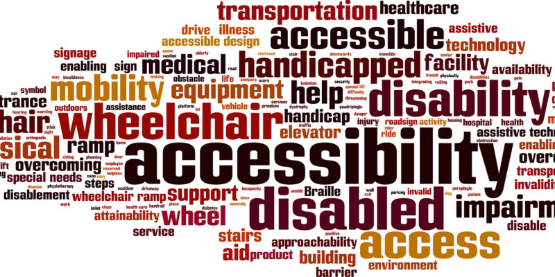 Disability - Word Art