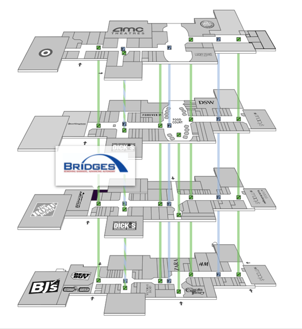 BRIDGES map 1